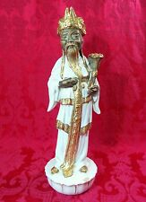 """Gorgeous Chinese Asian IMMORTAL Deity LU UGO ZACCAGNINI Italy A2074/2 Statue 17"""""""