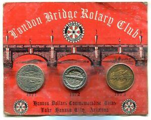 "Medaillen Set  ""Rotary Club- Lake Havasu Arizona""     #37"