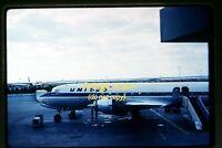 c.1961 UAL United Airlines Mainliner Denver Douglas DC-6B, Original Slide d16b