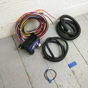 12v 18 Circuit 12 Fuse Universal Wiring Harness Kit 1949 buick 1951 buick