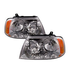 Performance Lens Headlights Halogen Set Fits 03 06 Lincoln Navigator