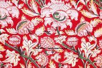 Indien Coton Main Bloc Tissu Imprimé Naturel Fleur Loisirs Créatifs Par Yard