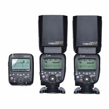 2 X Yongnuo YN600EX-RT 2.4G Wireless HSS Flash + YN-E3-RT Radio Transmitter Set
