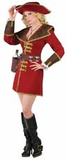 CARIBBEAN ROM RUNNER Ladies Costume Swashbuckler Pirate Halloween-OS    N36