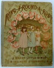 Ring A Round A Rosy A Dozen Little Girls Vintage Book by Mary Lathbury