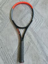 New listing NEW Wilson Clash 100 Pro, 4 3/8 grip, strung luxilon alu power, practiced 15mins