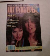 Hit Parader Magazine August 1982 Heart on the cover
