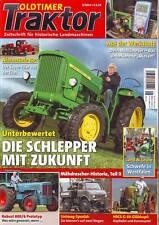 Oldtimer Traktor 5/14 John Deere 100 - 700/Hanomag Robust 800/HSCS G-35/IHC 453