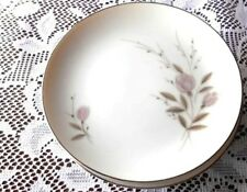 MIKASA MY LOVE Fine Dinnerware Bread Plates Pink Roses on White Lot of 5