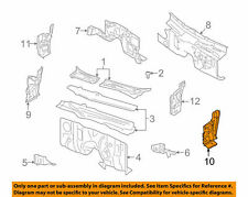 2005-2011 Ford Crown Vic Hinge Pillar Lower Driver Side New OEM F8AZ5402039AA