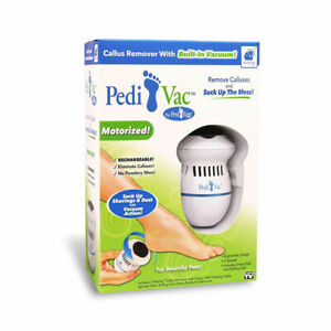 Ped Egg Pedi Vac Callus Remover - White