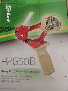 Heavy duty carton sealer 50mm  Grip Packing Tape Gun Dispenser