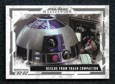 2017 Topps Star Wars Masterwork Adventures of R2-D2 AR-6 Rescue from Trash