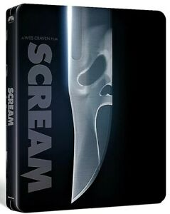 SCREAM 4K UHD COLLECTORS STEELBOOK / PRE-SALE / IMPORT / WORLDWIDE SHIPPING
