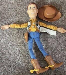 "MATTEL Disney Pixar Toy Story Woody doll 13"" Pull Draw String Talking Figure"