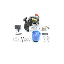30.5CC 4 bolt Engine & Air filter Set Blue for 1/5 HPI RV KM baja  LOSI FG GoPed