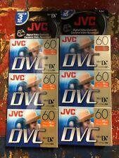 6 Pack New Digital Video Cassette Jvc Mini Dvc Tape 90min (Dvm60Me) Sealed