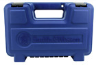 """Smith and Wesson S&W Plastic Pistol Case Small Up to 6"""" 39032 Empty BLUE"""