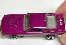 Purple Custom Mustang Hot Wheels Redline 25th Anniversary Silver Interior MINT