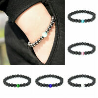 Women Men Therapeutic Energy Healing Bracelet Hematite Magnetic Bracelet Jewelry
