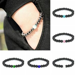 Women Men Therapeutic Energy Healing Bracelet Hematite Magnetic Bracelet Jewelry
