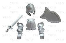 YRTS 7855 Playmobil Casco Coraza Espada y Escudo Caballero Medieval ¡New!