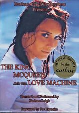 """Barbara Leigh AUDIO BOOK """"The King McQueen and the Love Machine"""" AUTOGRAPHED"""