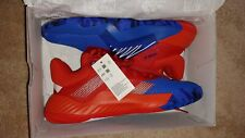 adidas D.O.N. Issue #1 Size 8.5 Blue Red Marvel Spider Man Don Mitchell EF2400