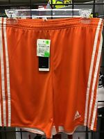 New Adidas Regista 14 Youth Orange / White Soccer Shorts NWT See Last Picture
