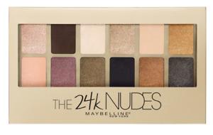 (1) Maybelline NEW YORK 24K Nudes Eyeshadow Palette