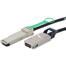 HP Compliant 1M 4X QSFP/CX4 InfiniBand Cable P/N: 498380-B21