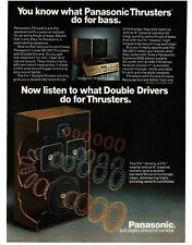 1978 PANASONIC Thrusters Speakers VTG PRINT AD