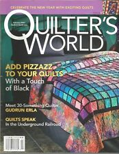 Quilter's World Magazine - February 2007 - Add Pizzazz to Your Quilts and More!