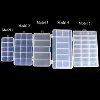 Fishing Lure Boxes Bait Tackle Plastic Storage Case Handle Box Blue Lure Box zt