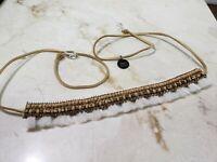 "Deepa By Deepa Gurnani ""Anjana"" White Beaded Chocker Necklace Hsn $45"