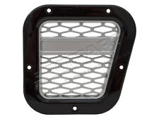 Land Rover Defender Air Intake Grille DA1970 Black With Silver Mesh Right Hand