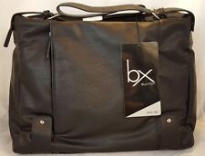 "NEW BX Buxton Lap Top Case Up To 15"" & 3 Media Pockets Lois Tote"