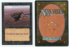MTG Misprint - Sinkhole *Color Error Back* Unlimited Edition (SCG)