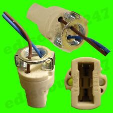 CE CERTIFIED G9 + M10 + WIRE Light Bulb Halogen Lamp Holder LED Fitting UK STOCK