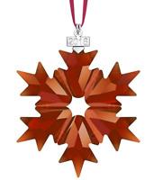 NIB$89 Swarovski Annual Edition 2018 Christmas Ornament Snowflake Large #5460487