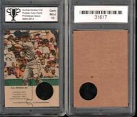 CAL RIPKEN Jr Baltimore Orioles Puzzle Coin Prototype Cards GRADED 10 Gem Mint