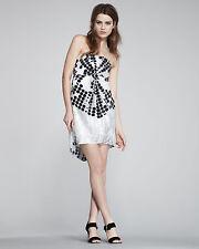 Diane von Furstenberg Antonella Degrade Polka Dot Dress sz 4