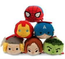 lots of 6 pcs TSUM The Avengers toy Animal plush Doll soft toys gifts