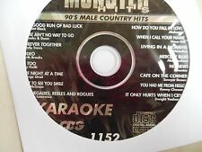 KARAOKE MONSTER HITS CD+G 90's MALE COUNTRY HITS   #1152