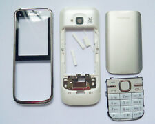 White Housing cover Case fascias facia faceplate For Nokia C5 C5-00 white