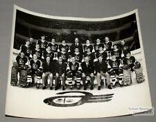Late 1960's AHL Quebec Aces Original Team Photo