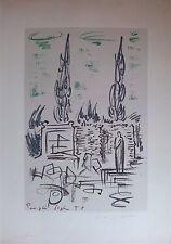 André Masson Lithographie Aix-en-Provence Surrealisme Expressionisme Abstrait
