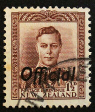 Stamp NEW ZEALAND / Stamp NEW ZELAND - Y&T service n°85 (c) obl (Cyn22)