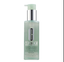 Clinique Liquid Facial Soap 200ml Face Wash Cleanser Skincare Oily Skin