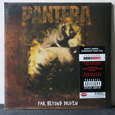 PANTERA 'Far Beyond Driven' Gatefold 180g Vinyl 2LP NEW/SEALED